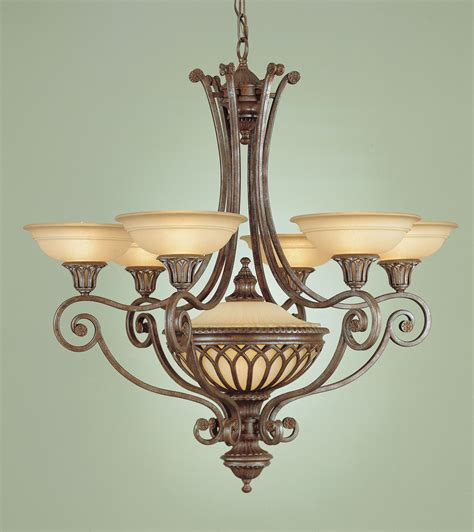 Murray Feiss Chandelier Murray Feiss F1919 6 1brb Stirling Castle Six Light Chandelier