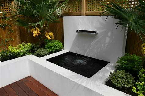 Small Garden Design small garden wimbledon designed with automatic irrigation