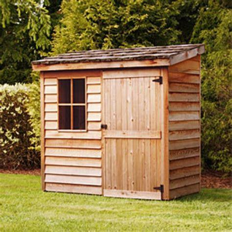 The Cedar Shed by Cedar Banff Wood 6x3 Storage Shed Storage Shed Reviews