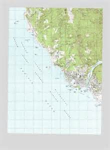brookings oregon map brookings or topographic map topoquest