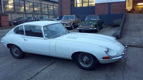 Car Types Beginning With E by Jaguar Type E 4 2l Blanche 1969 Classic Car