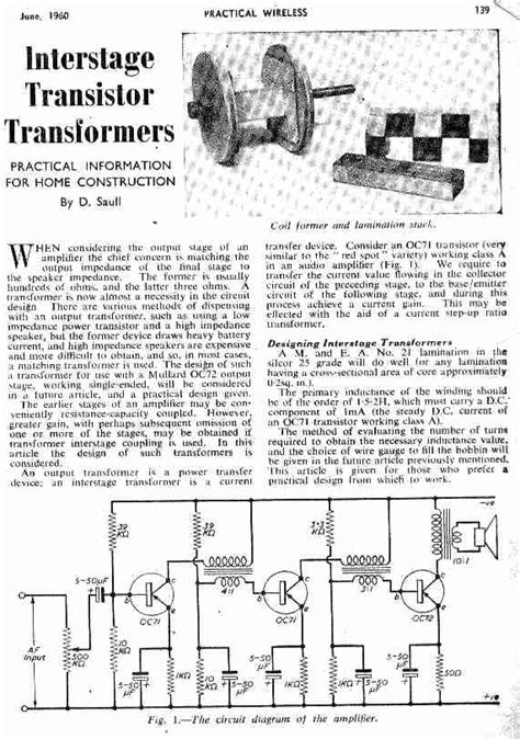 transistor lifier output transformer transistor lifier with output transformer 28 images high power lifier article about high