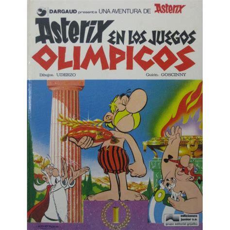 libro astrix y los juegos asterix y el caldero ediciones junior