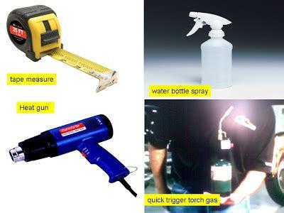 Hair Dryer Buat Pasang Stiker starting automobil diy tip pasang sticker costum
