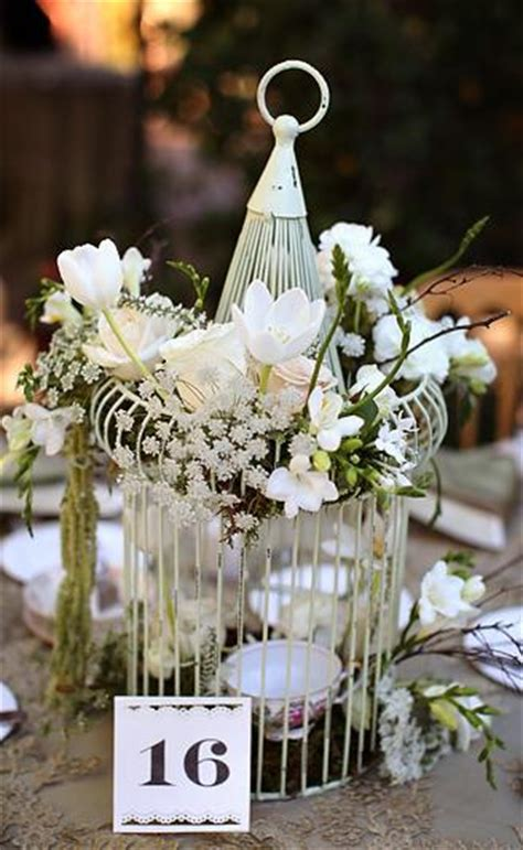 wedding bird cage centerpiece small quotes