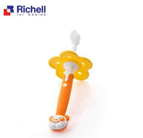 Richell Baby Food Container With Spoon Wadah Makan Bayi 7 richell toothbrush from 12 months recababy my recashop