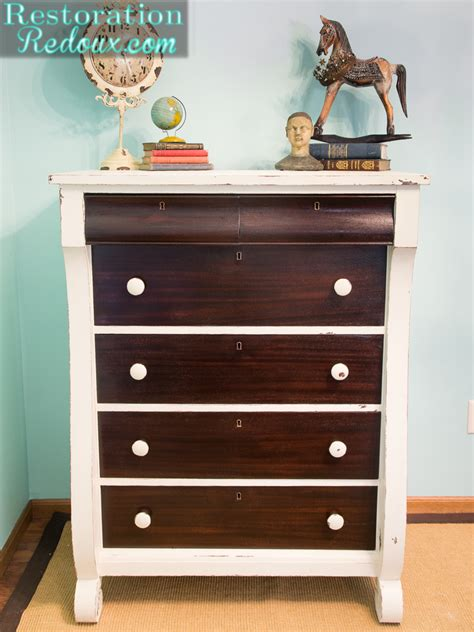 vanity chest bedroom furniture brentwood drawer chest dresser two tone cherry dressers
