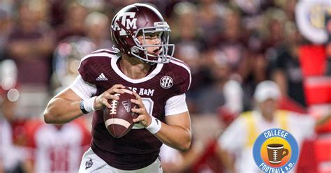 texas am kyle allen quarterback cfb am texas a m qb flirts with camera girl as barry
