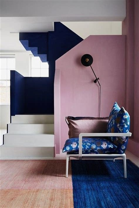 dusty blue interior pain 27 trendy ideas to add pink to your interior digsdigs