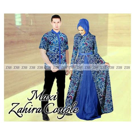 Dress Maxi Wanita Muslim Biru Natusha Busui Friendly model terbaru muslim butik destira