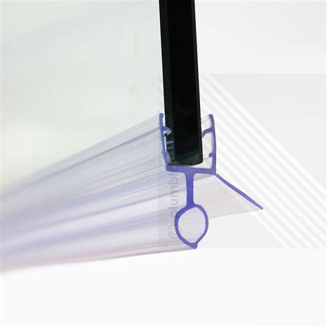 Bathroom Shower Door Seal Shower Screen Door Seal Type 3 Wing Length 10mm Fits 6 8mm Glass