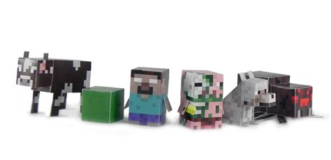 Minecraft Papercraft Toys - minecraft crafts digital