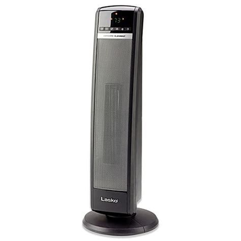 bed bath and beyond heater lasko 174 digital ceramic tower heater bed bath beyond