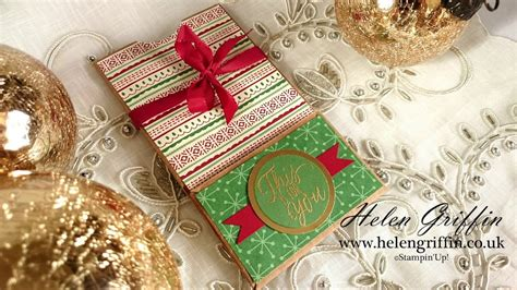 ninth day of christmas ideas 9th day of gift card money treat pouch with card tutorial