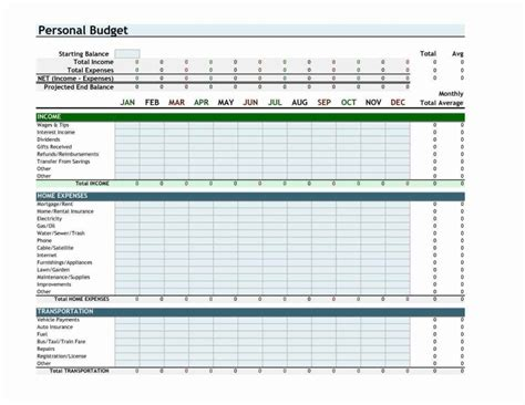 Budget Excel Spreadsheet Free Download Budget Spreadsheet