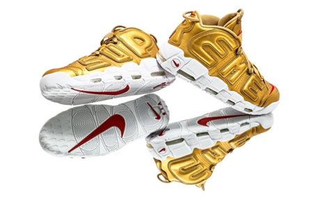 Nike Uptempo Supreme supreme nike air more uptempo metallic gold 902290 700 sbd