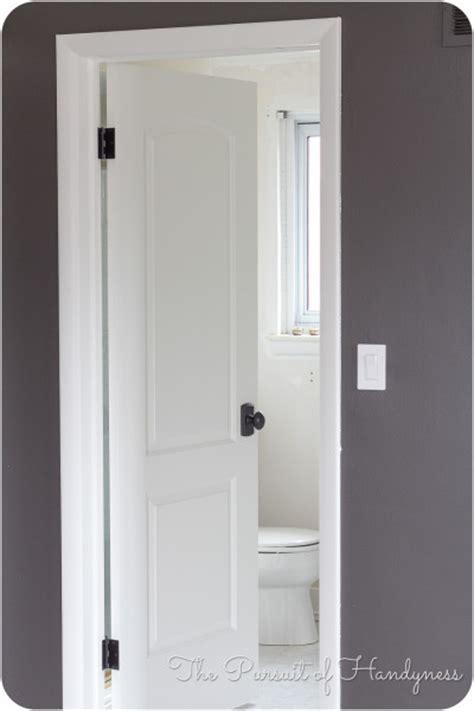 Installing Slab Door by Door Knob Install In Slab Doors