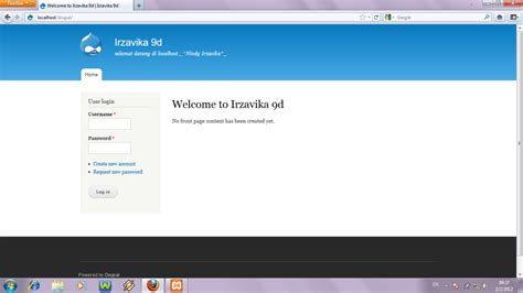 tutorial membuat blog di localhost menggunakan xp bukalah browser anda kemudian ketik http localhost
