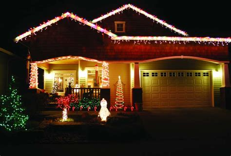 how to hang christmas lights on your garage door times union