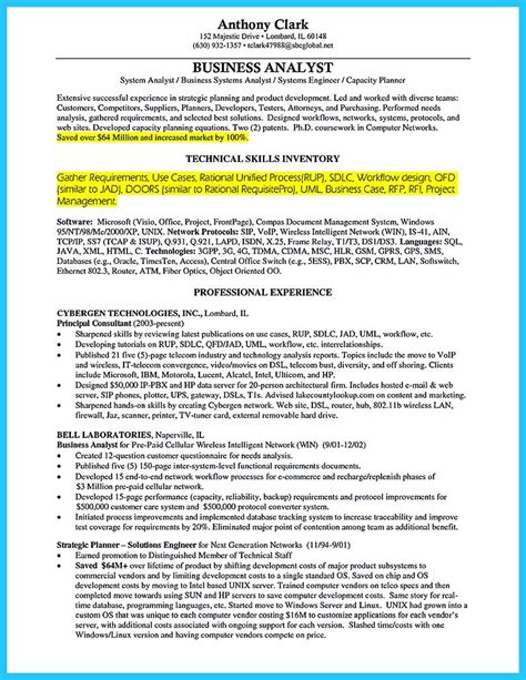 free business resume template business analyst resume template 11