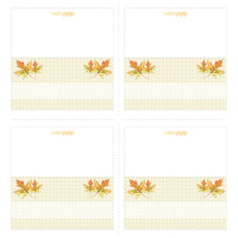 thanksgiving dinner place cards template cutouts printable template printable place cards