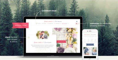 55 wedding wordpress themes free website templates
