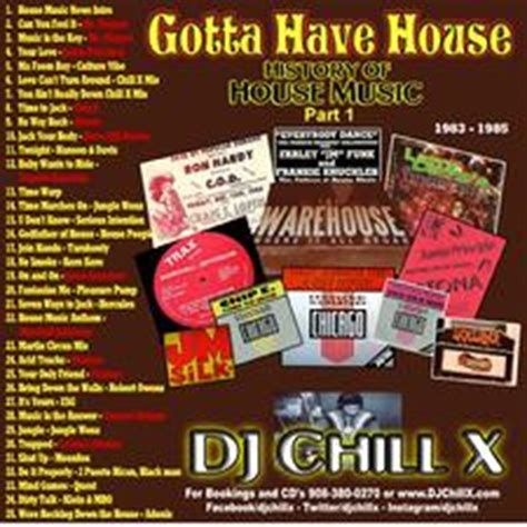 gotta have house music gotta have house part 1