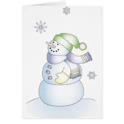 snowman cards zazzle