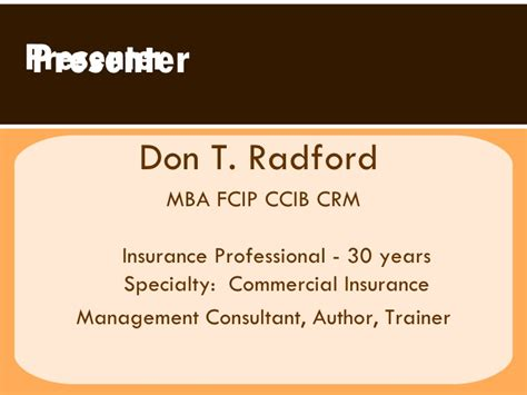 Mba In Risk Management Canada by Cavr 2009 Risk Management Ppt