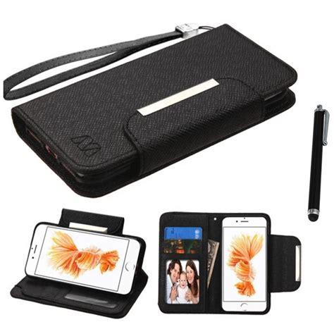 for iphone 7 plus 5 5 wallet myjacket slots pockets stylus pen ebay