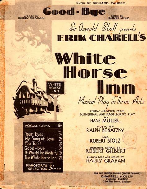 white inn lyrics 110 best song sheets 1930 s images on lyrics