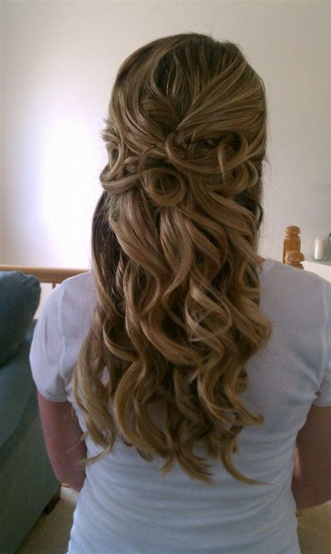 Wedding Hair Up With Curls by 98 Best Images About Half Up Half Updos On