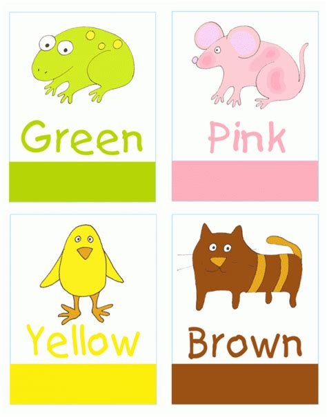 printable toddler learning flash cards color flashcards for preschool ziggity zoom