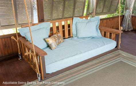 swing bed plans perfect porch swing beds for maximum comfort