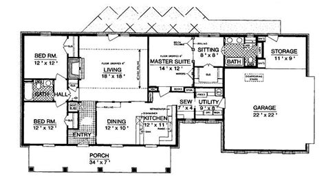 1600 Square Foot Ranch House Plans by 1600 Square Foot Ranch House Plans New Home