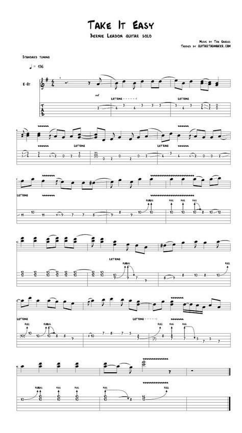 Eagles Take It Easy Guitar Chords