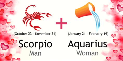 scorpio man and aquarius woman love compatibility ask oracle