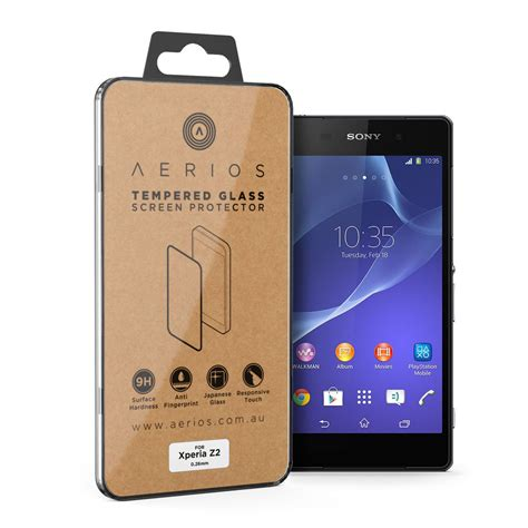 Tempered Glass Tg Myuser Sony Xperia E1 9h tempered glass screen protector for sony xperia z2