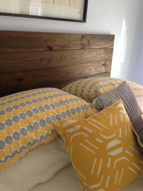 distressed wood headboard for the home pinterest