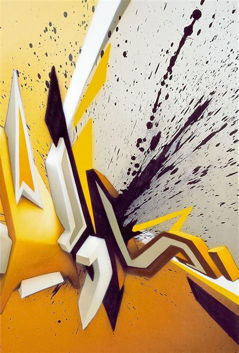 daim canvas contemporary urban artist