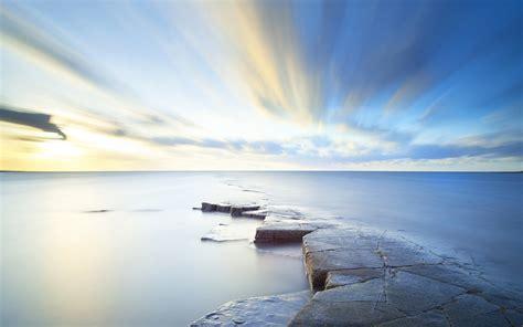 sea sky horizon hd nature  wallpapers images