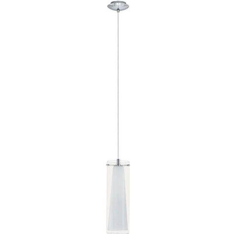 Eglo Pinto 1 Light Chrome Hanging Mini Pendant 20509a Hanging Mini Pendant Lights