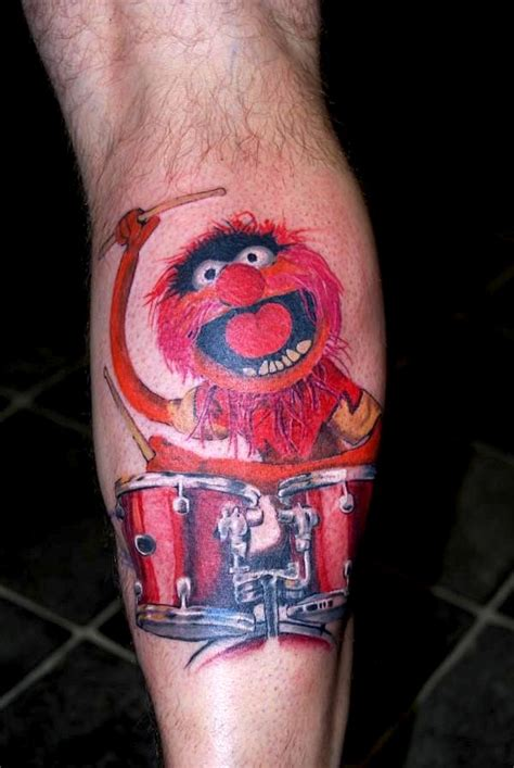 tattoo animal muppets tattoo tuesday the muppets girl gone geek