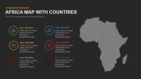 africa powerpoint template africa map with countries powerpoint and keynote template