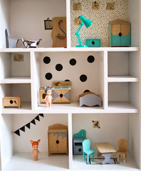 dotty dolls house bookcase 14 modern day diy dolls house renovations mum s grapevine