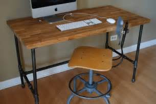 metal pipe desk 17 best images about pipe furniture on industrial furniture and pipe desk