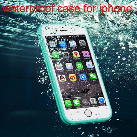 Waterproof Underwater Diving Shockproof Screen Touch Cover For Iphone 3 2016 new touch screen waterproof cover for iphone 5 5s 6 6s 6 plus water drop dirt