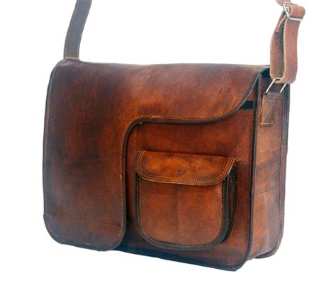vintage leather messenger bag 11 quot x 9 5 quot x 2 5 quot vintage