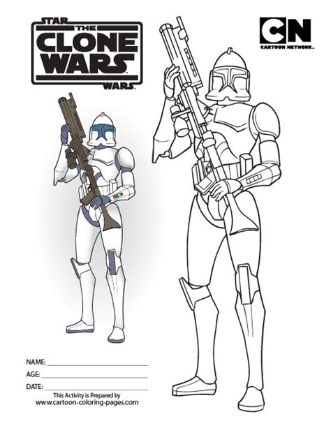 coloring pages wars clone trooper silas class clone troopers are great for practice
