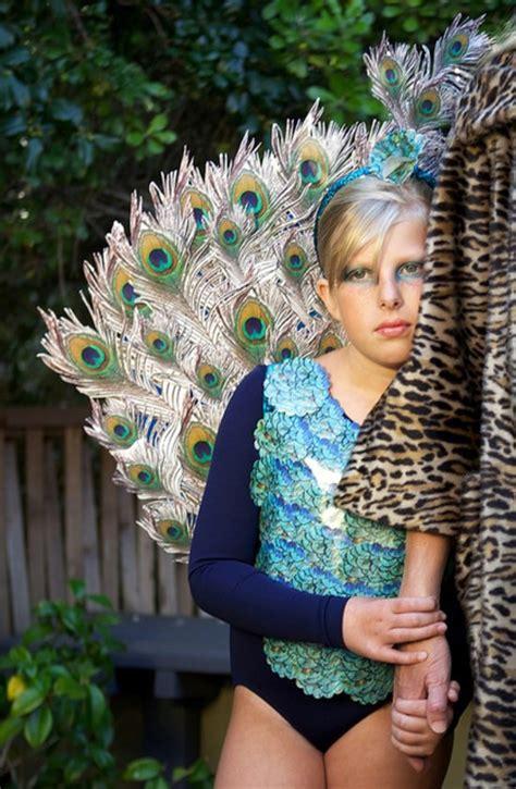 Handmade Peacock Costume - diy peacock costume made from photographs popsugar